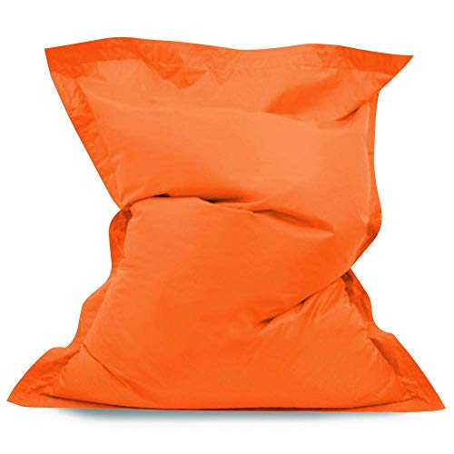 Pouf de jardin Bean Bag orange